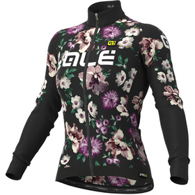 Alé Cycling Graphics PRR Fiori Winter Maillot À Manches Longues Femme, black
